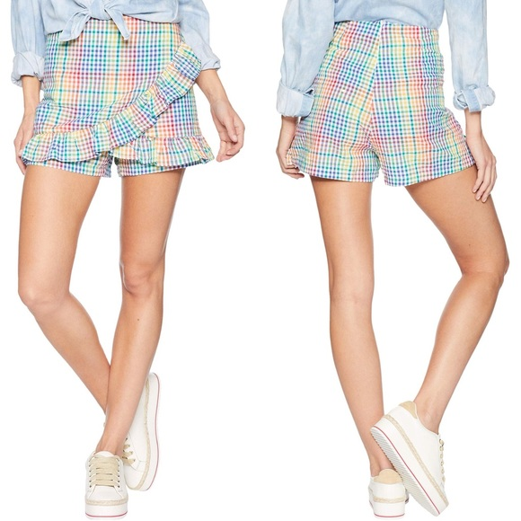 Romeo & Juliet Couture Pants - ROMEO & JULIET COUTURE Ruffle Front Skort